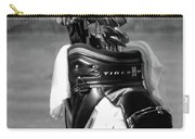 Black White Tiger Woods Bag Clubs  Carry-all Pouch