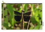 Widow Skimmer Dragonfly Female Carry-all Pouch