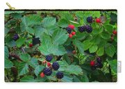 Blackberries 1 Carry-all Pouch
