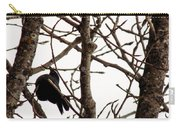Blackbird In A Tree Carry-all Pouch