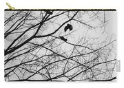 Blackened Birds Carry-all Pouch