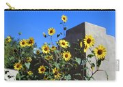 Blackeyed Susans And Adobe Carry-all Pouch