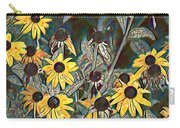 Blackeyed Susans Watercolor Carry-all Pouch