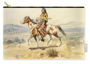 Blackfoot Indian. A Crow Scout Carry-all Pouch