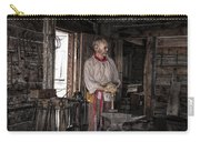 Blacksmith At The Fort Edmonton Park In Alberta Carry-all Pouch