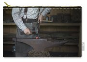 Blacksmith At Work Carry-all Pouch