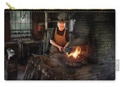Blacksmith - Blacksmiths Like It Hot Carry-all Pouch by Mike Savad