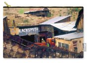 Blacksmith, Ghost Town, Jerome, Az. Carry-all Pouch