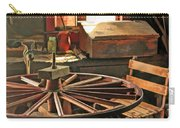 Blacksmith Shop Wheel Repair At Old World Wisconsin Carry-all Pouch