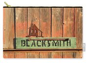Blacksmith Sign Carry-all Pouch