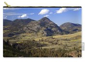 Blacktail Road Landscape 2 Carry-all Pouch by Marty Koch