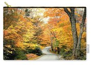 Blackwater Falls Autumn Road Carry-all Pouch