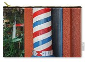 Blake's Barbershop Pole Vector I Carry-all Pouch