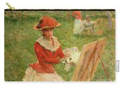Blanche Hoschede Painting Carry-all Pouch
