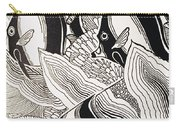 Blandings Angelfish Carry-all Pouch