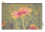 Blanket Flower Portrait Carry-all Pouch