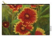 Blanket Flowers Carry-all Pouch