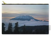 Blanket Of Fog Below Mount Saint Helens Carry-all Pouch