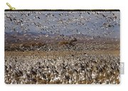 Blast Off Bosque Del Apache Carry-all Pouch