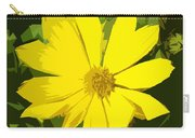 Blaze Of Yellow Carry-all Pouch