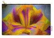Blazing Heart Of An Iris Carry-all Pouch