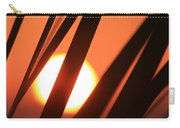 Blazing Sunset And Grasses Carry-all Pouch