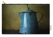 Blue Enamelware Coffee Pot Carry-all Pouch