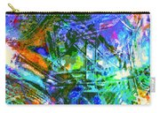 Bleached Vibrance Carry-all Pouch