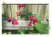 Bleeding Heart Clerodendrum 2 Carry-all Pouch