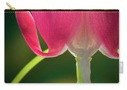 Bleeding Heart Macro Carry-all Pouch