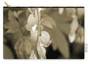 Bleeding Hearts In Sepia Carry-all Pouch