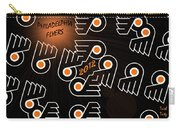 Bleeding Orange And Black - Flyers Carry-all Pouch by Trish Tritz