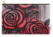 Bleeding Roses Carry-all Pouch