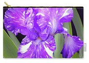 Blended Beauty - Bearded Iris Carry-all Pouch
