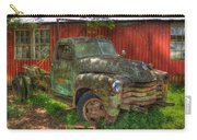 Blind In One Eye 1947 Chevy Flatbed Truck Art Carry-all Pouch