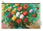 Blissful Blooms Carry-all Pouch