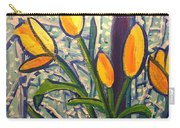 Blizzard Tulips Carry-all Pouch