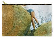 Blond Rock Climber Carry-all Pouch