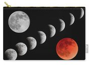 Blood Moon Of The Tetrad Carry-all Pouch