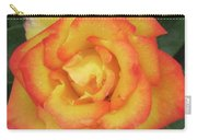 Blood Orange Rose Carry-all Pouch