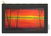 Blood Orange Sunset Carry-all Pouch