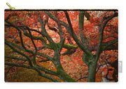 Blood Red Autumn Tree Carry-all Pouch