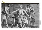 Blood Transfusion From Dog To Man, 1692 Carry-all Pouch
