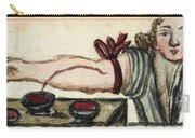 Bloodletting, Illustration, 1675 Carry-all Pouch