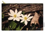 Bloodroot In Spring Carry-all Pouch