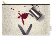 Bloody Dining Table Carry-all Pouch by Joana Kruse