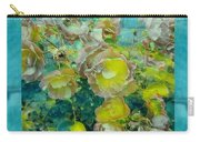 Bloom In Vintage Ornate Style Carry-all Pouch