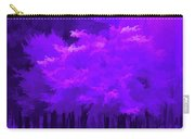 Blooming Amethyst Carry-all Pouch