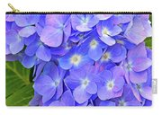 Blooming Blue Hydrangea Carry-all Pouch
