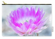 Blooming Cactus Carry-all Pouch
